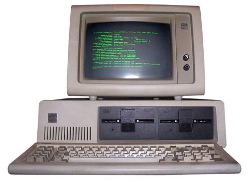 Первый компьютер. История ПК. IBM PC